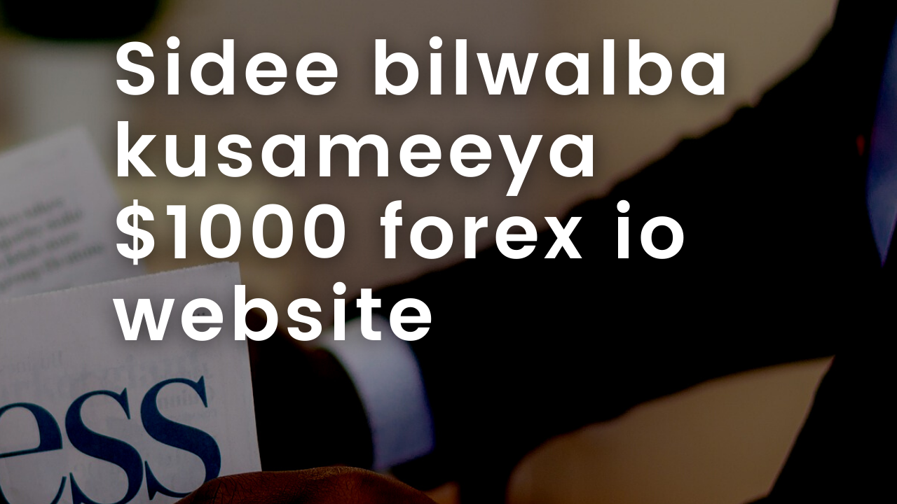 """How imake  $1000 every month """"Forex and Website"""""""